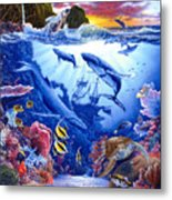 Enchanted Sea Metal Print