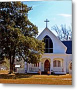 Fairhope Sacred Heart Church Metal Print