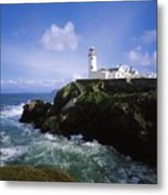 Fanad Lighthouse, Co Donegal, Ireland Metal Print
