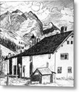 Fextal Switzerland Metal Print