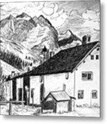 Fextal Switzerland Metal Print