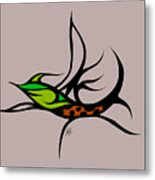 Fly Fish Fly Metal Print