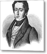 Frederic Chopin (1810-1849) Metal Print