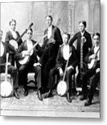 Harvard Banjo Club 1893 Metal Print