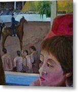 Horse Show No. 1 Metal Print