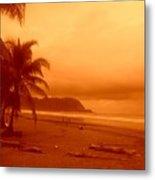 Jaco Beach Costa Rica Metal Print
