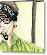 Jay Allen At The Broken Spoke Saloon Metal Print