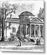 Jefferson: Monticello Metal Print