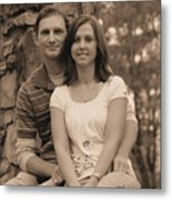 Jennifer And Family Metal Print