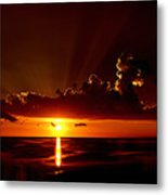 Keaton Beach Sunset Metal Print