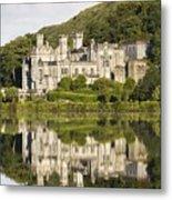 Kylemore Abbey, County Galway, Ireland Metal Print