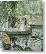 La Grenouillere Metal Print by Pierre Auguste Renoir