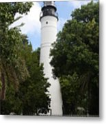 Lighthouse - Key West Metal Print
