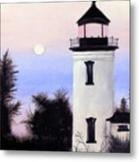 Lonesome Lighthouse Metal Print
