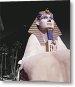 Luxor Sphynx Metal Print
