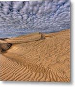 Magic Of The Dunes Metal Print