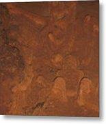 Mayan Sacrifice Metal Print