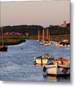 Morston Creek Metal Print