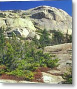 Mount Chocorua Granite Summit Metal Print
