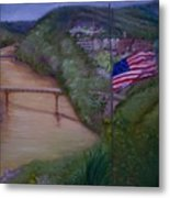 Muddy River Metal Print