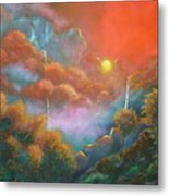 Mystic Sunrise Metal Print