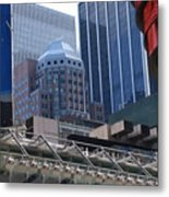 N Y C Architecture Metal Print