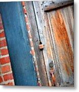 New Orleans Door 2 Metal Print
