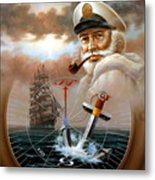 News Map Captain 2 Or Sea Captain Metal Print