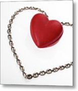 Our Hearts Forever Together Metal Print