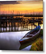Palaffite Port Metal Print