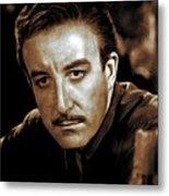 Peter Sellers, Actor Metal Print