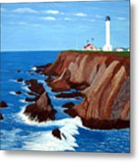 Point Arena Light Station Metal Print