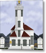 Point Wilson Lighthouse Metal Print