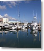 Port Canaveral Florida Usa Metal Print