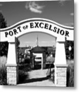 Port Of Excelsior Metal Print