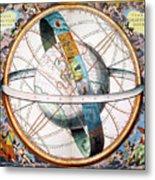 Ptolemaic Universe, 1660 Metal Print