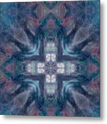 Queen Fairy Cross Metal Print