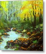 Quiet  Time And  Place Metal Print