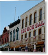 Red Dog Saloon Metal Print