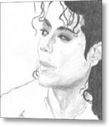 Remembering Michael Metal Print