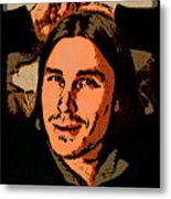 Ricky Cartoon Metal Print by Ric Forney