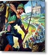 Robin Hood Metal Print by James Edwin McConnell
