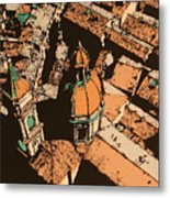 Roofs Of Bologna Metal Print