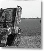 Route 66 - Cadillac Ranch Metal Print