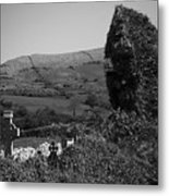 Ruins In The Burren County Clare Ireland Metal Print