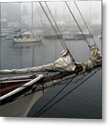 Sailing On Hold Metal Print