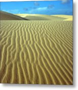 Sandy Desert Metal Print by MotHaiBaPhoto Prints
