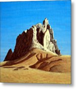 Ship Rock Metal Print