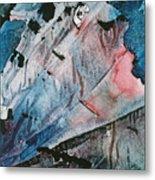 Skid Row Blues Metal Print by Shirley McMahon