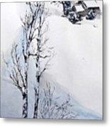 Snow Time Metal Print